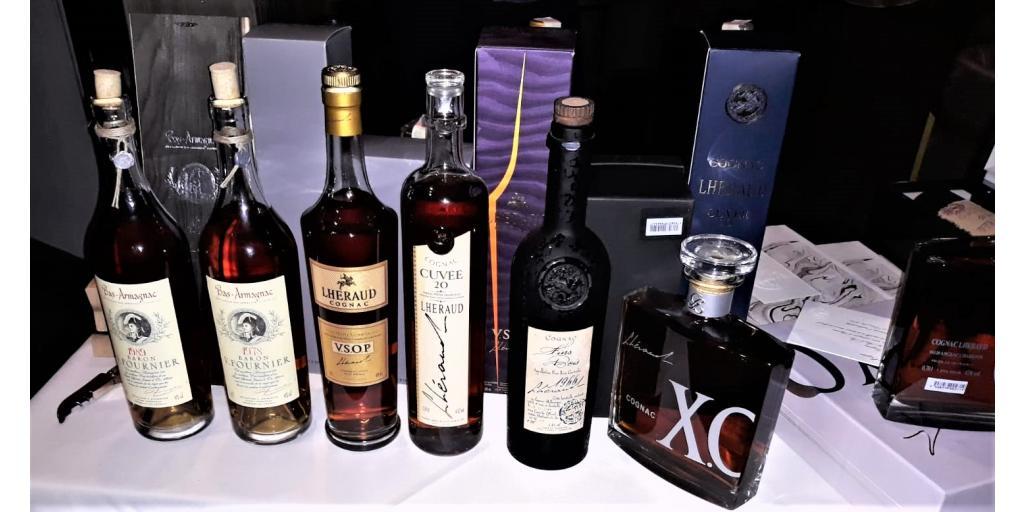 The famous Lhéraud  - Degustare Lhéraud cognac și armagnac Bas-Baron V Fournier