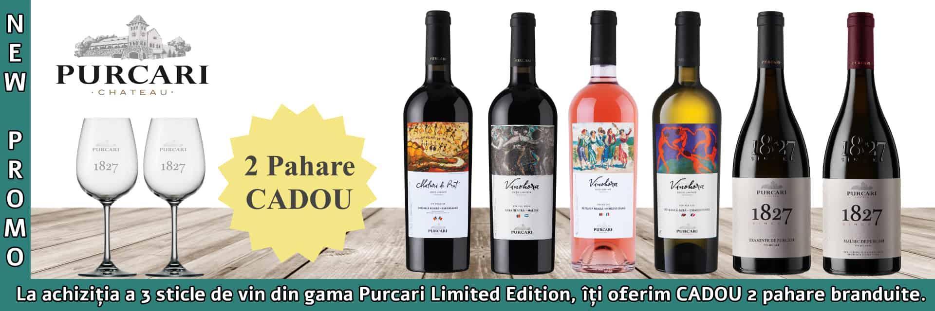 Purcari: Promo Pahare