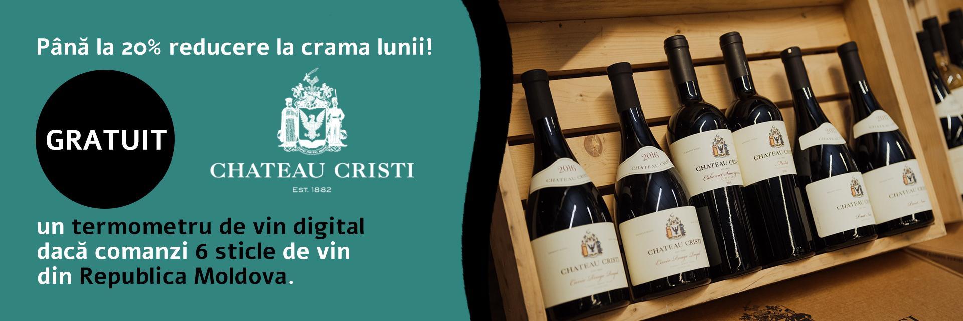 Promotie: Chateau Cristi