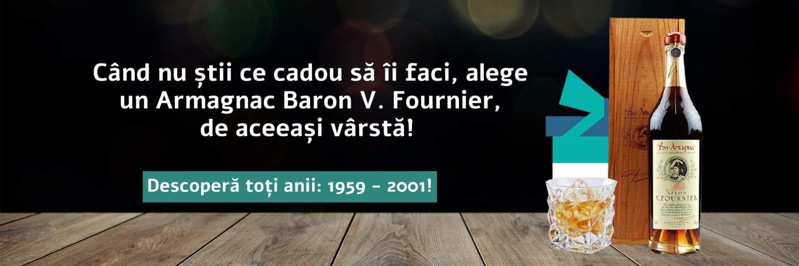 Armagnac Baron V. Fournier 1959-2001