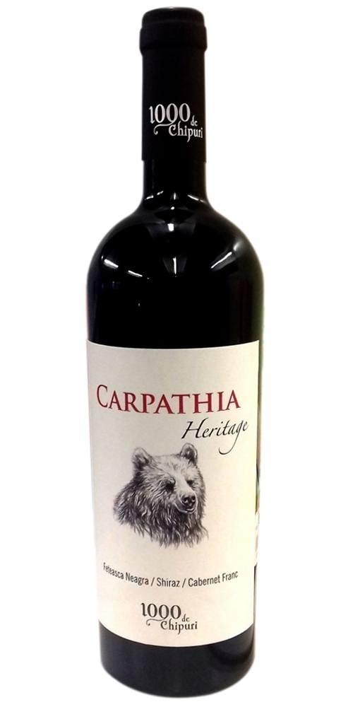 1000 de Chipuri Carpathia Heritage 0.75L
