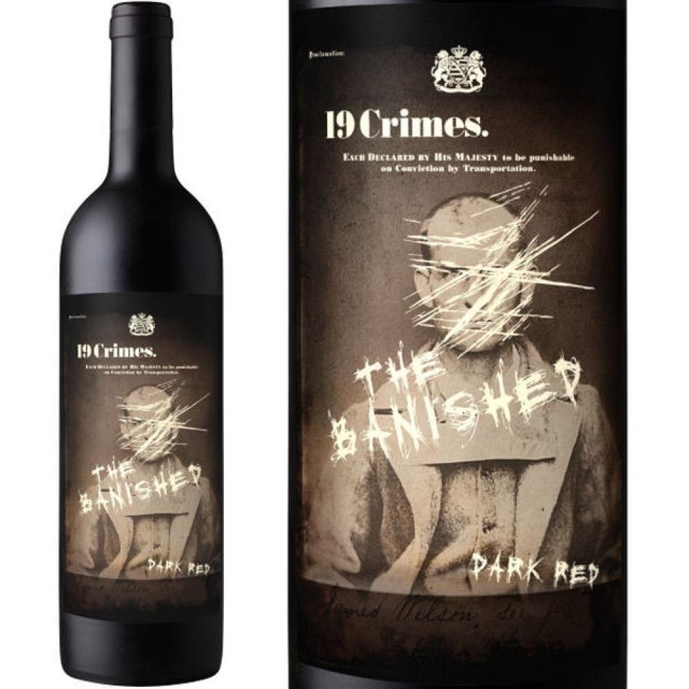 Vin 19 Crimes The Banished 0.75L