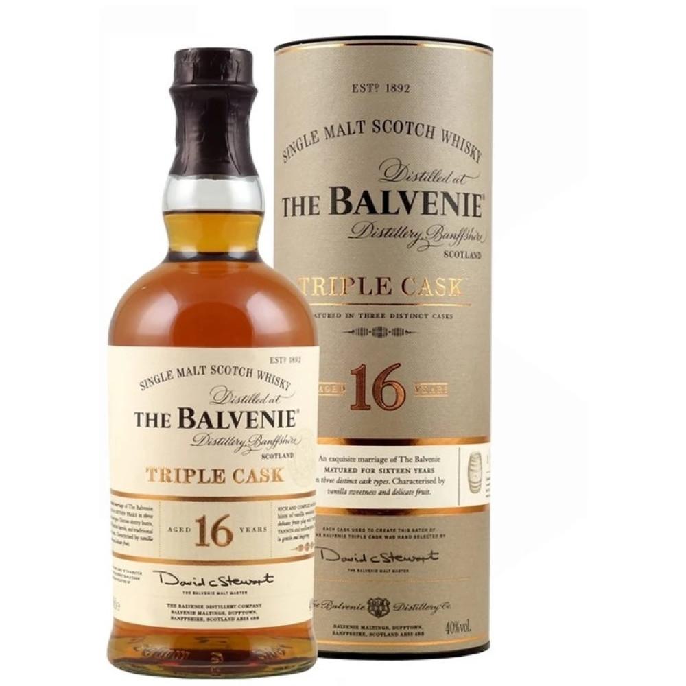 Whisky Balvenie 16 Ani Triple Cask 0.7L