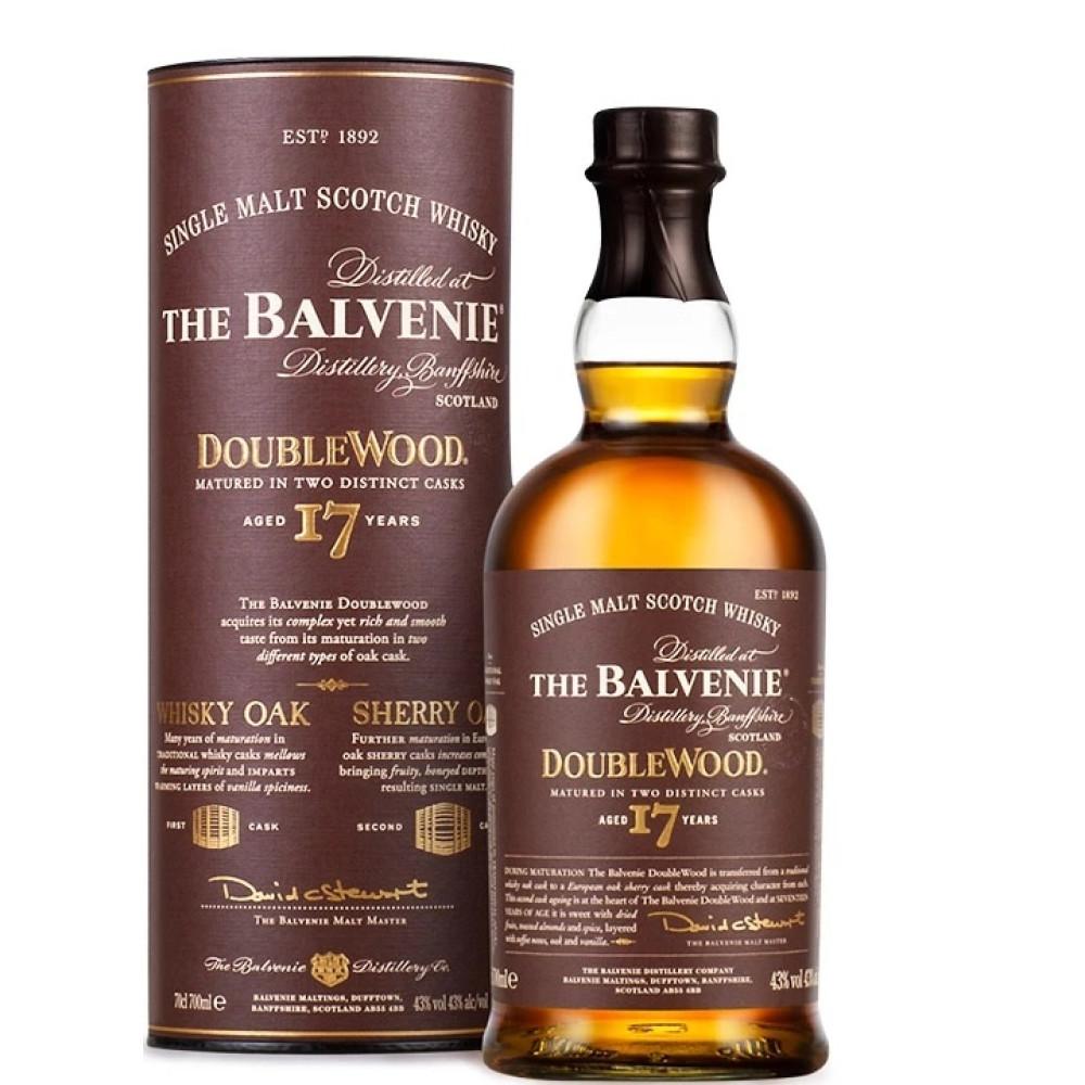 Whisky Balvenie 17 Ani Doublewood 0.7L