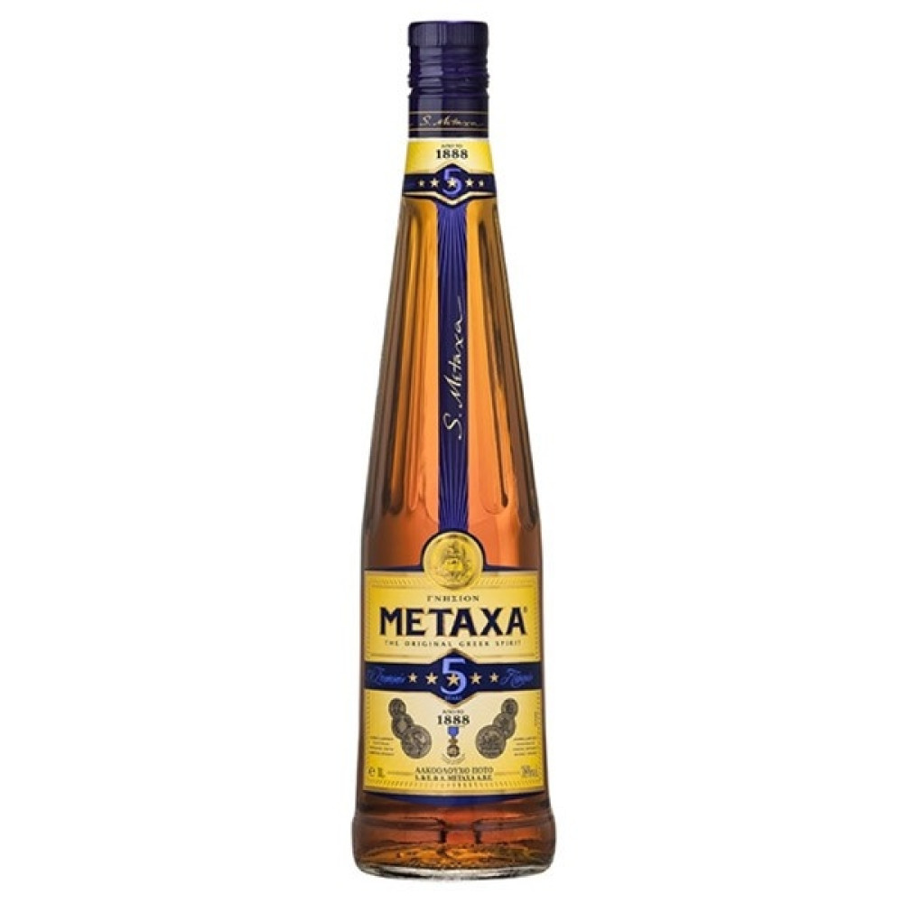 Brandy Metaxa 5* 0.7L