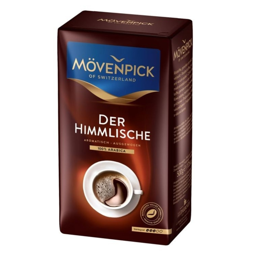 Cafea Movenpick of Switzerland Der Himmlische Macinata 500gr