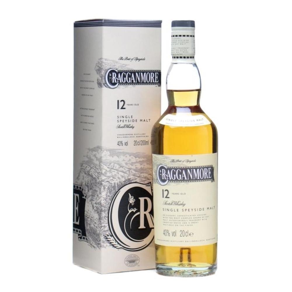 Scotch Cragganmore 12 ani 0.7L