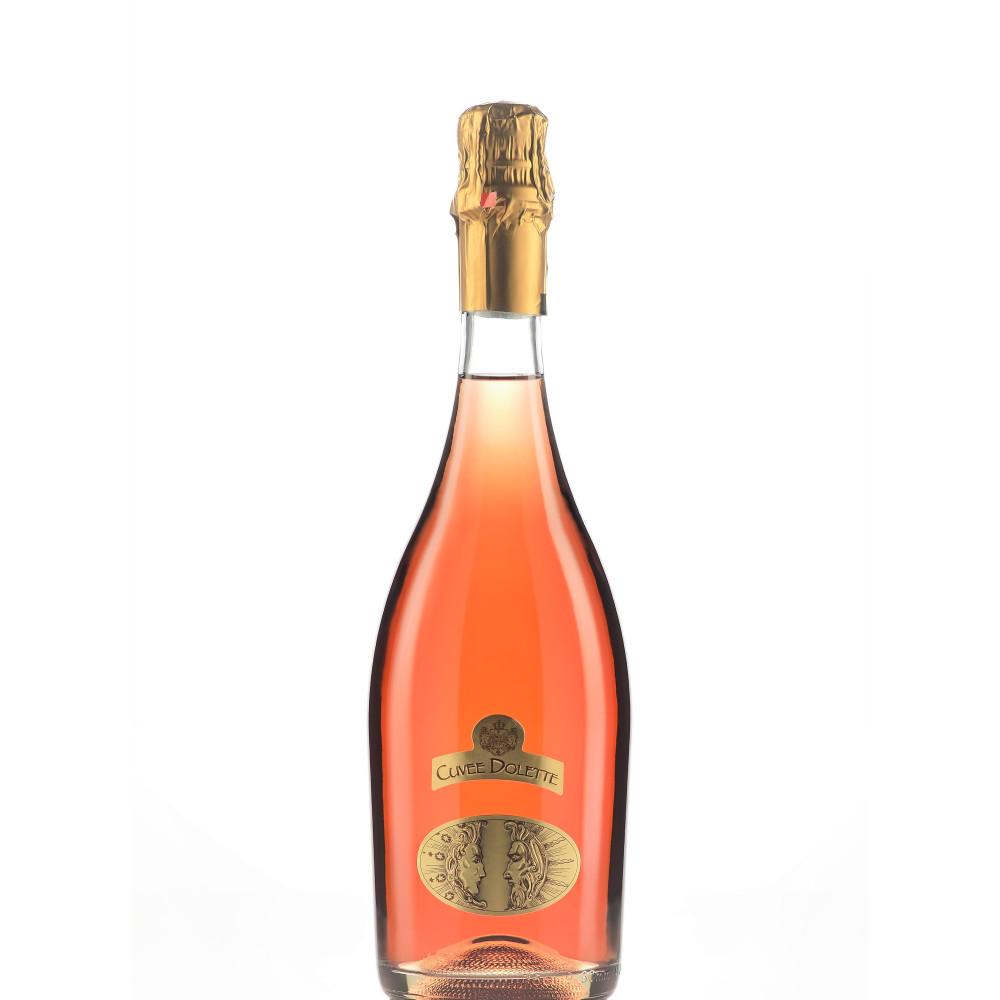 Vin Spumant Rose Cuvee Dolette 0.75L