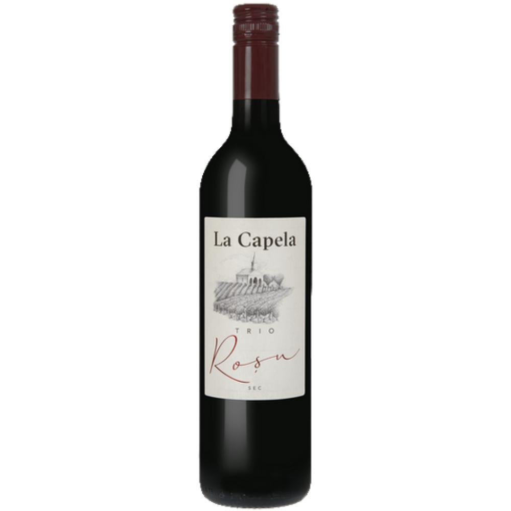 Vin La Capela Trio Rosu 0.75L