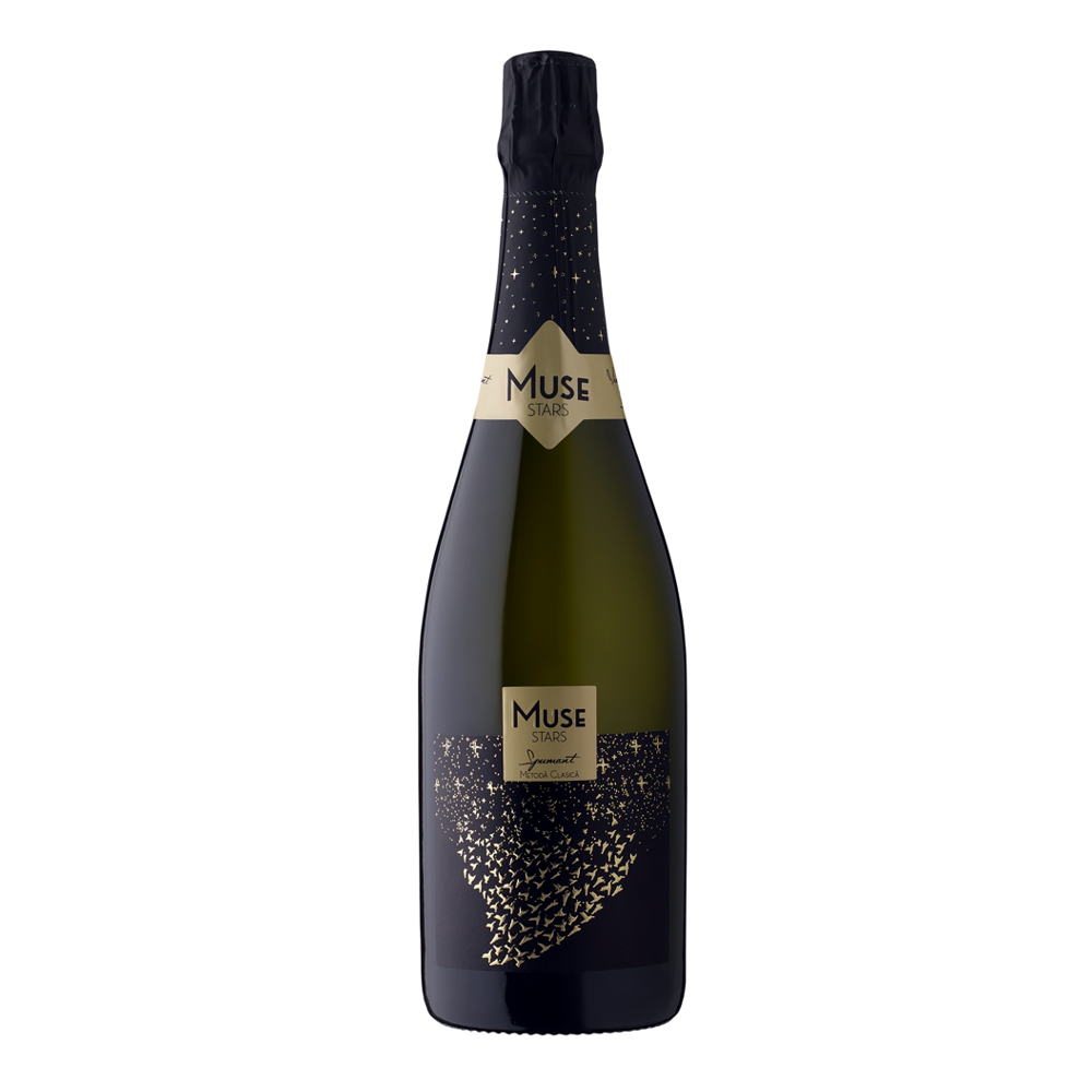 Recas Muse Stars Spumant Brut Chardonnay 0.75L