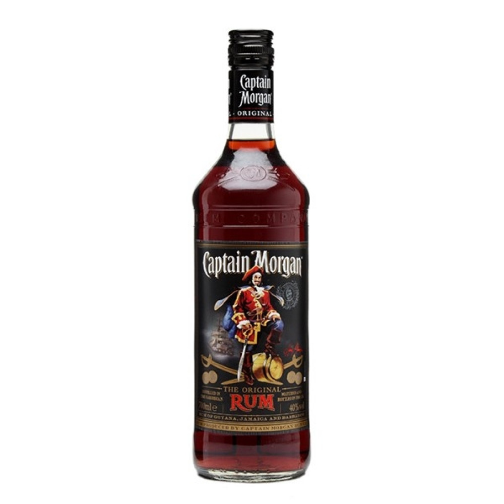Rom Captain Morgan Black 0.7L