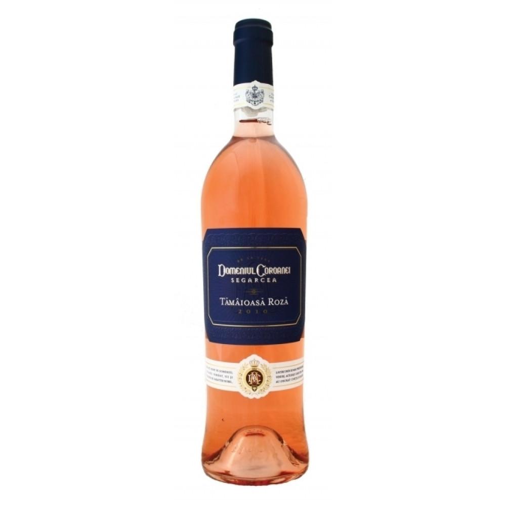 Vin Domeniul Coroanei Tamaioasa Roza 0.75L