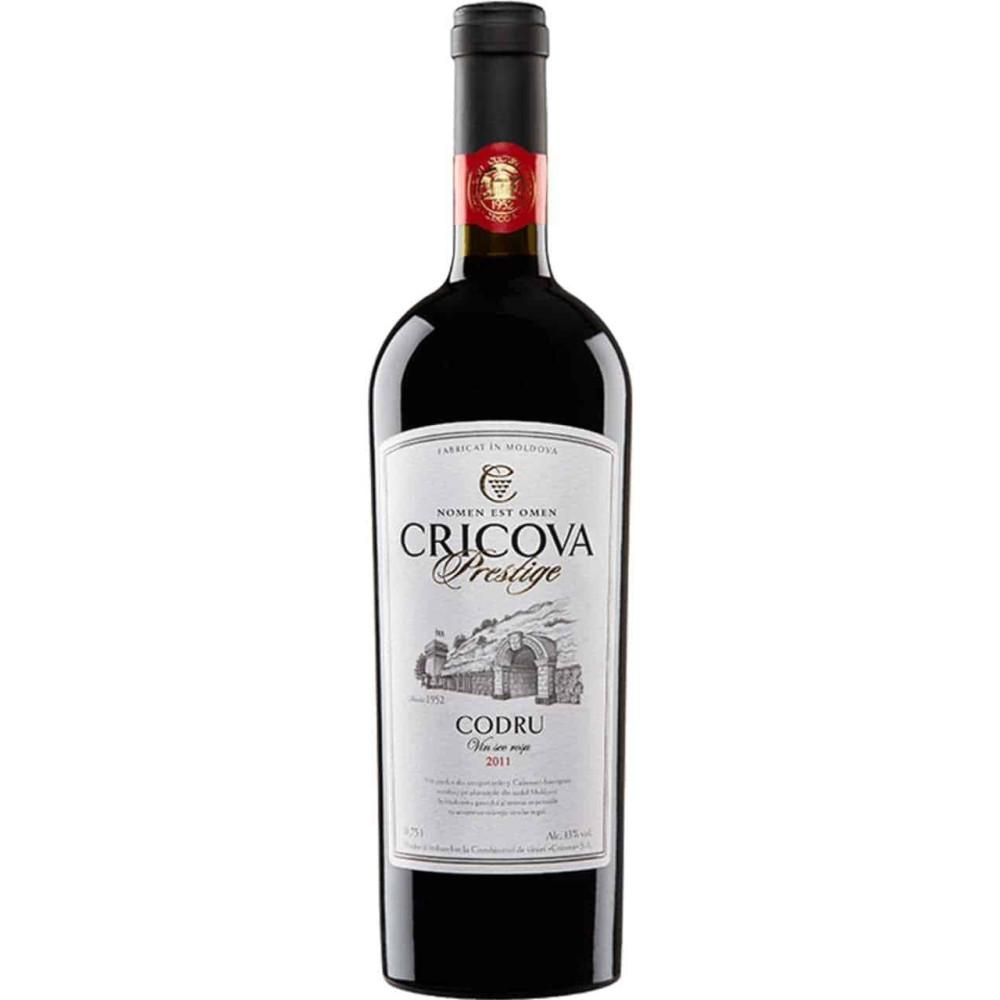 Vin Rosu Cricova Prestige Codru 0.75L