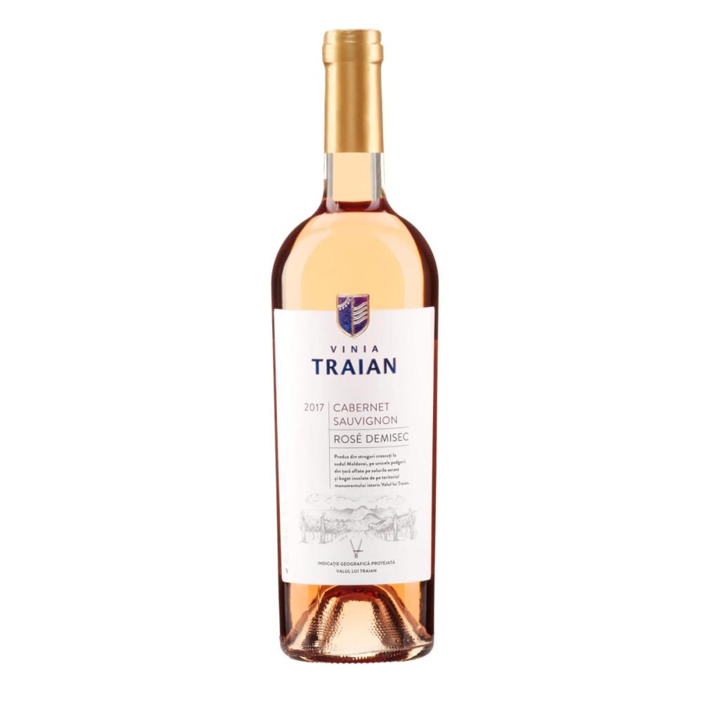 Vin Rose Traian IDG Cabernet 0.75L