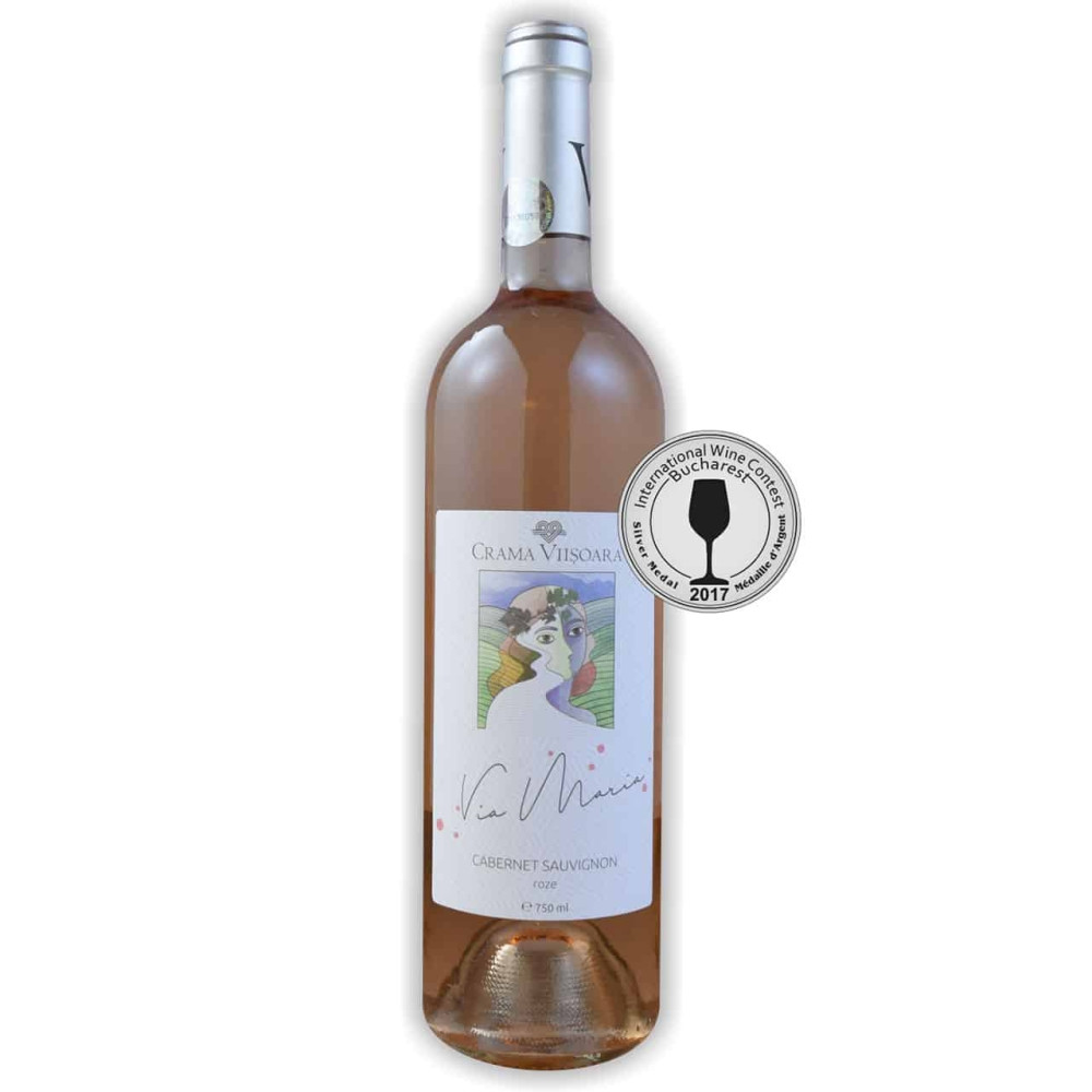 Vin Cabernet Sauvignon Roze Via Maria 0.75L