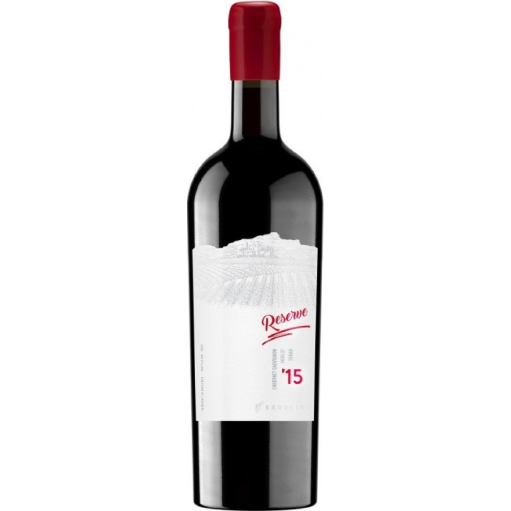 Vin Rosu Radacini Reserve Cabernet Sauvignon, Merlot & Syrah 2016 0.75L