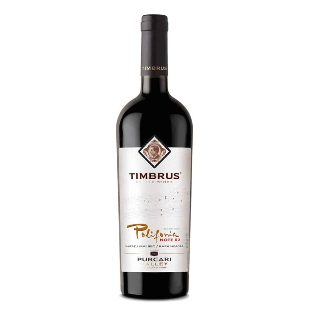Vin Rosu Timbrus Polifonia #2 0.75L