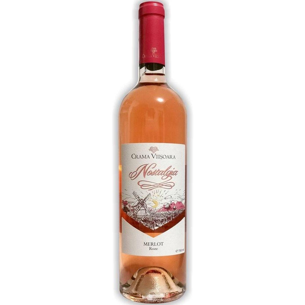 Vin Merlot Roze Nostalgia 0.75L