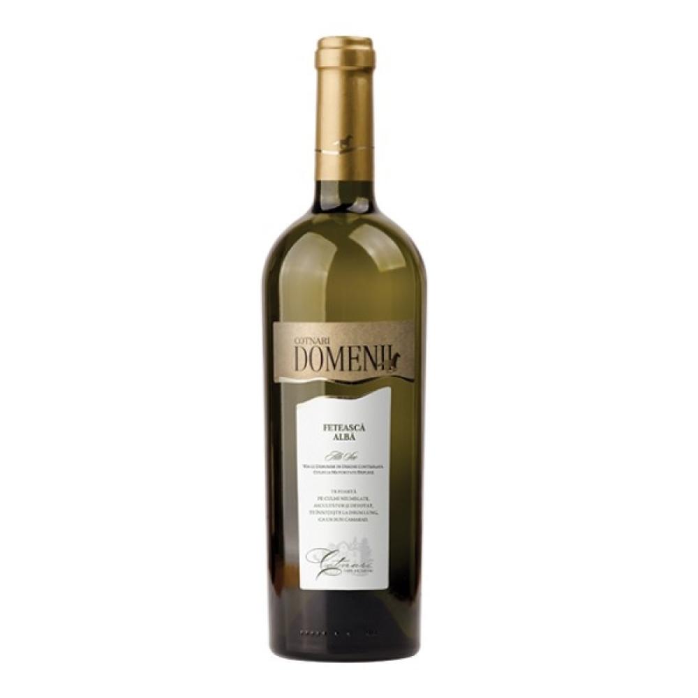 Vin Alb Cotnari Domenii Feteasca Alba 0.75L