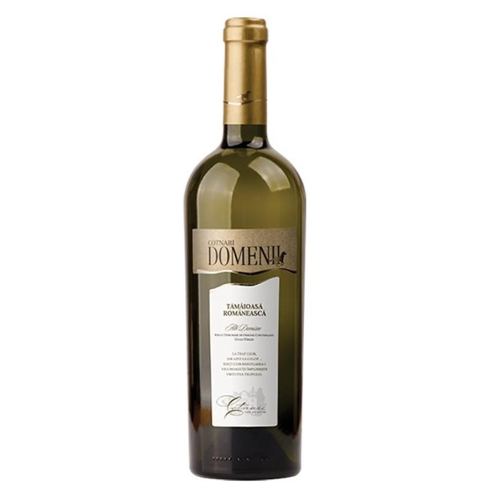 Vin Cotnari Domenii Tamaioasa Romaneasca 0.75L