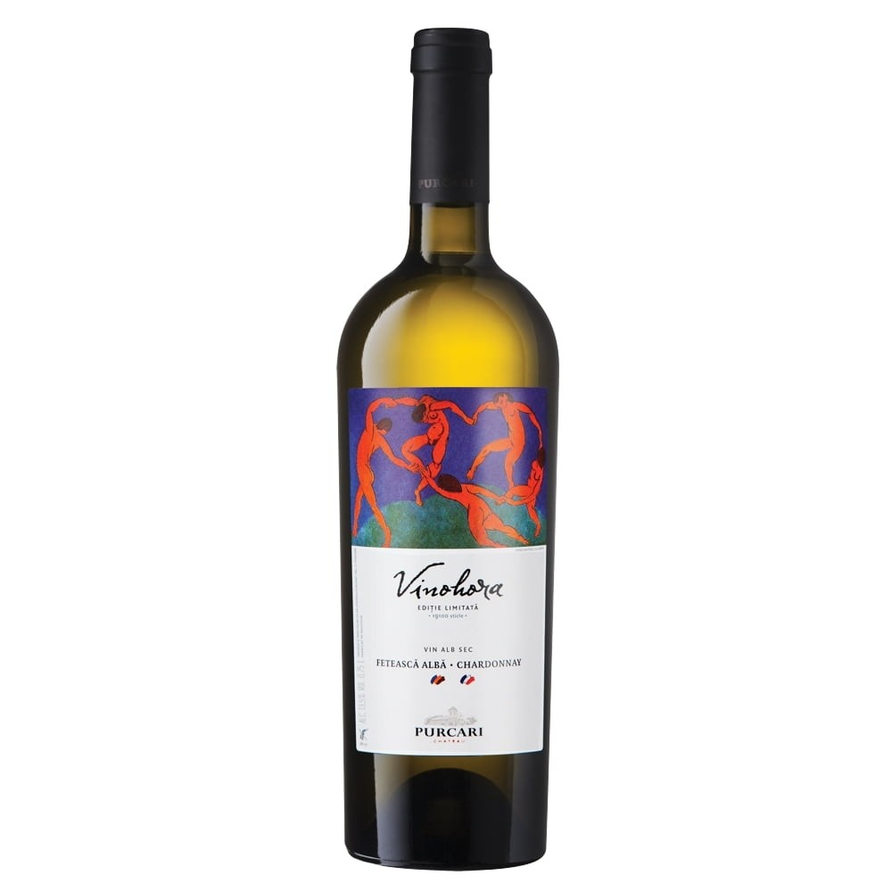 Vin Alb Purcari L.E Vinohora Feteasca Alba-Chardonnay 0.75L