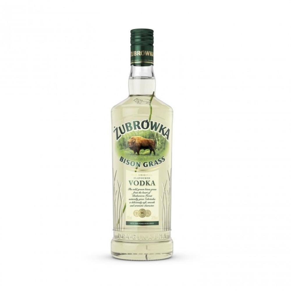 Vodka Zubrowka Bison Grass 1L
