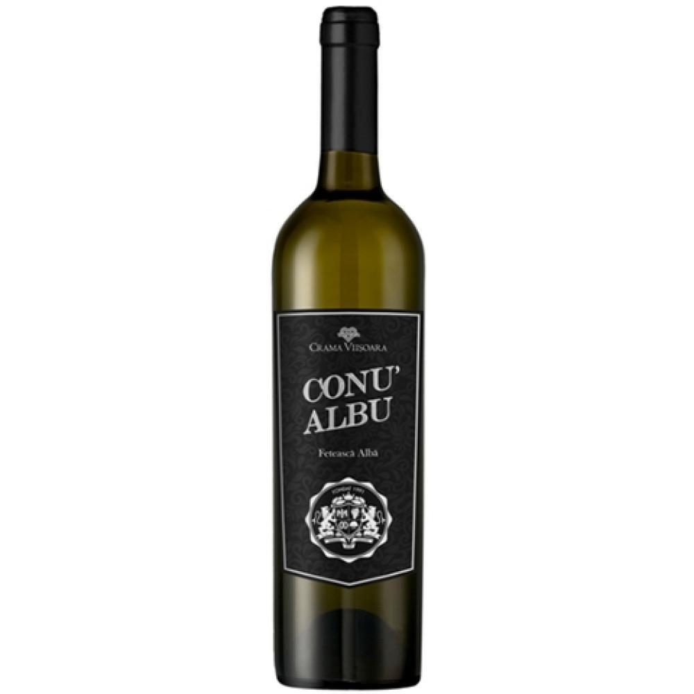 Vin Feteasca Alba Conu' Albu 0.75L