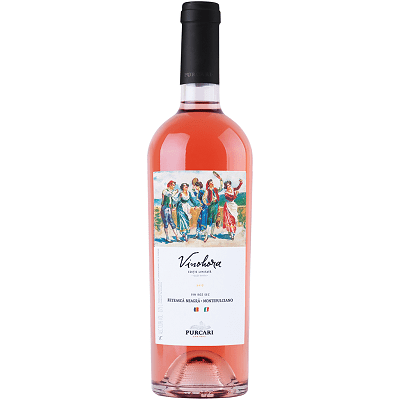 Vin Rose Purcari Vinohora 0.75L