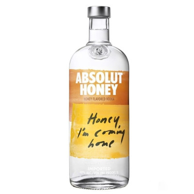 Vodka Absolut Honey 1L