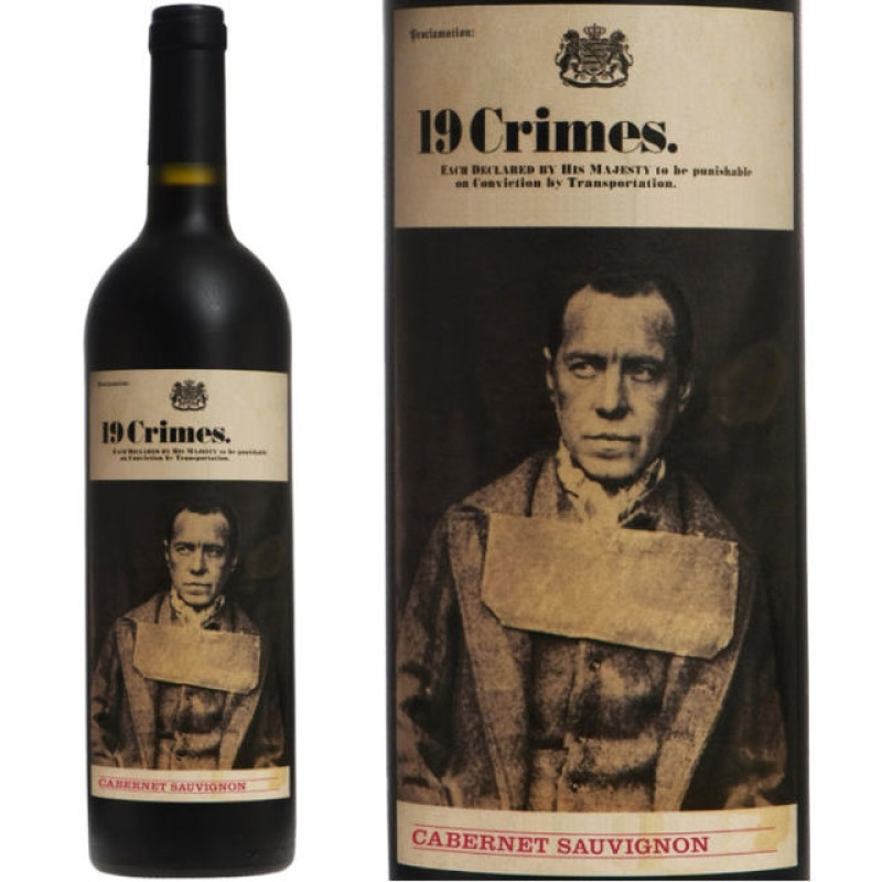 Vin 19 Crimes Cabernet Sauvignon 0.75L