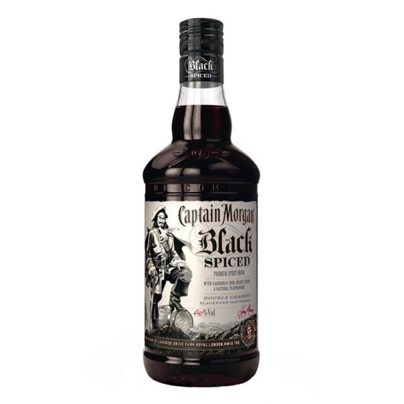 Captain Morgan Black Spiced  1 L