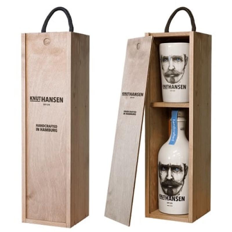 Gin Knut Hansen 0.5L + Gift Box