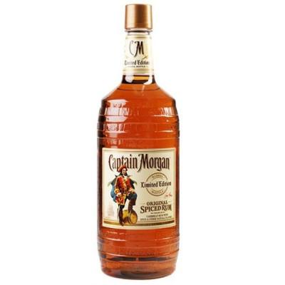 Rom Captain Morgan Spiced Barrel Bottle 1.5 L