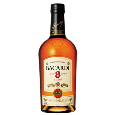 Rom Bacardi 8 ani 0.7L