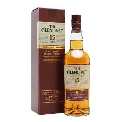 Scotch The Glenlivet 15 ani 0.7L