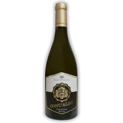 Vin Chardonnay Barrique Conu' Albu 0.75L