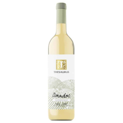 Vin Alb Thesaurus Sauvignon Blanc 0.75L