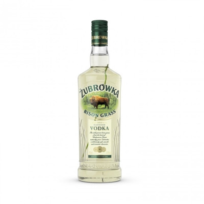 Vodka Zubrowka Bison Grass 1L