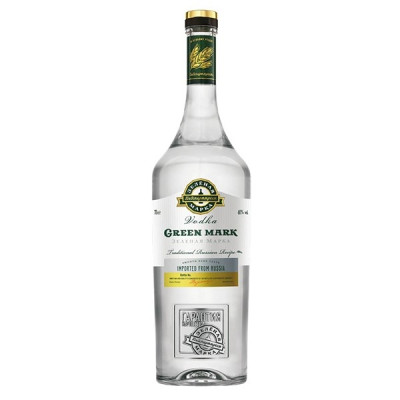 Vodka Green Mark 1L
