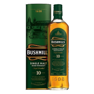 Whisky Bushmills Single Malt  10 ani 0.7L