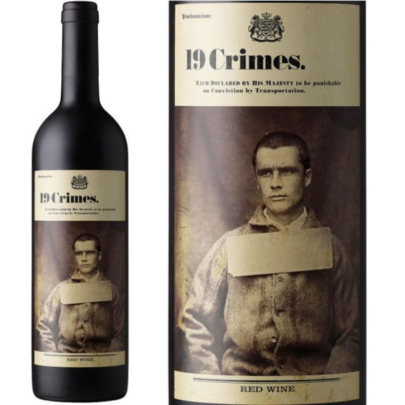 Vin 19 Crimes Red Wine 0.75L