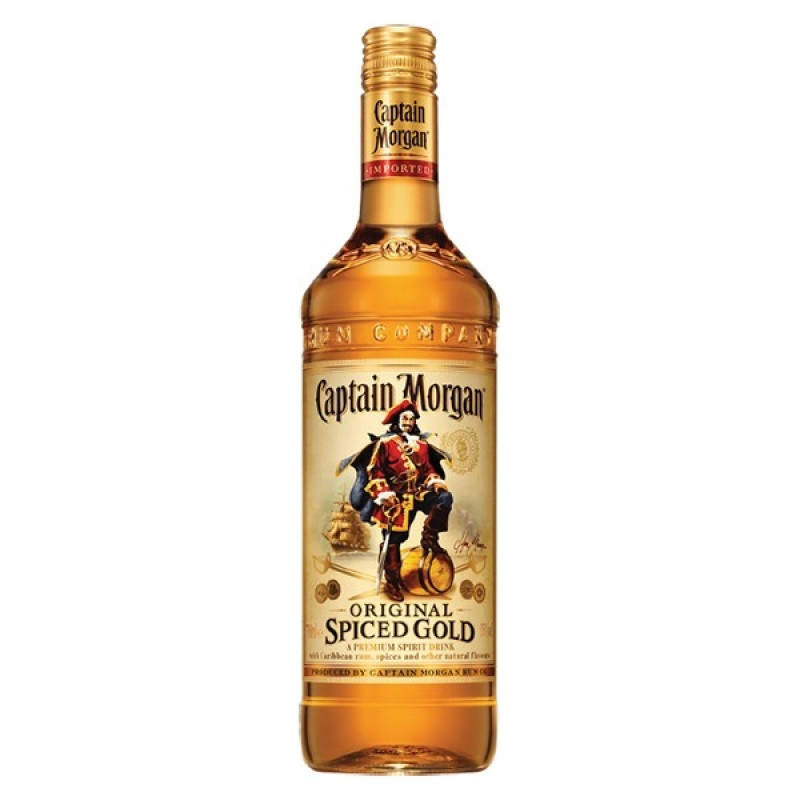 Rom Captain Morgan Original Spiced Gold 0.7L