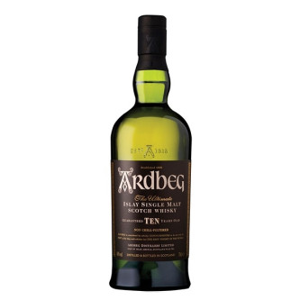 Scotch Afumat Ardbeg 10 ani 0.7L
