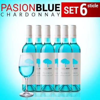 Set 6 Pasion Blue Wine 0.75L