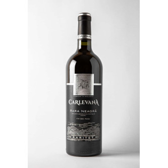 Vin Rosu Carlevana Rara Neagra 0.75L
