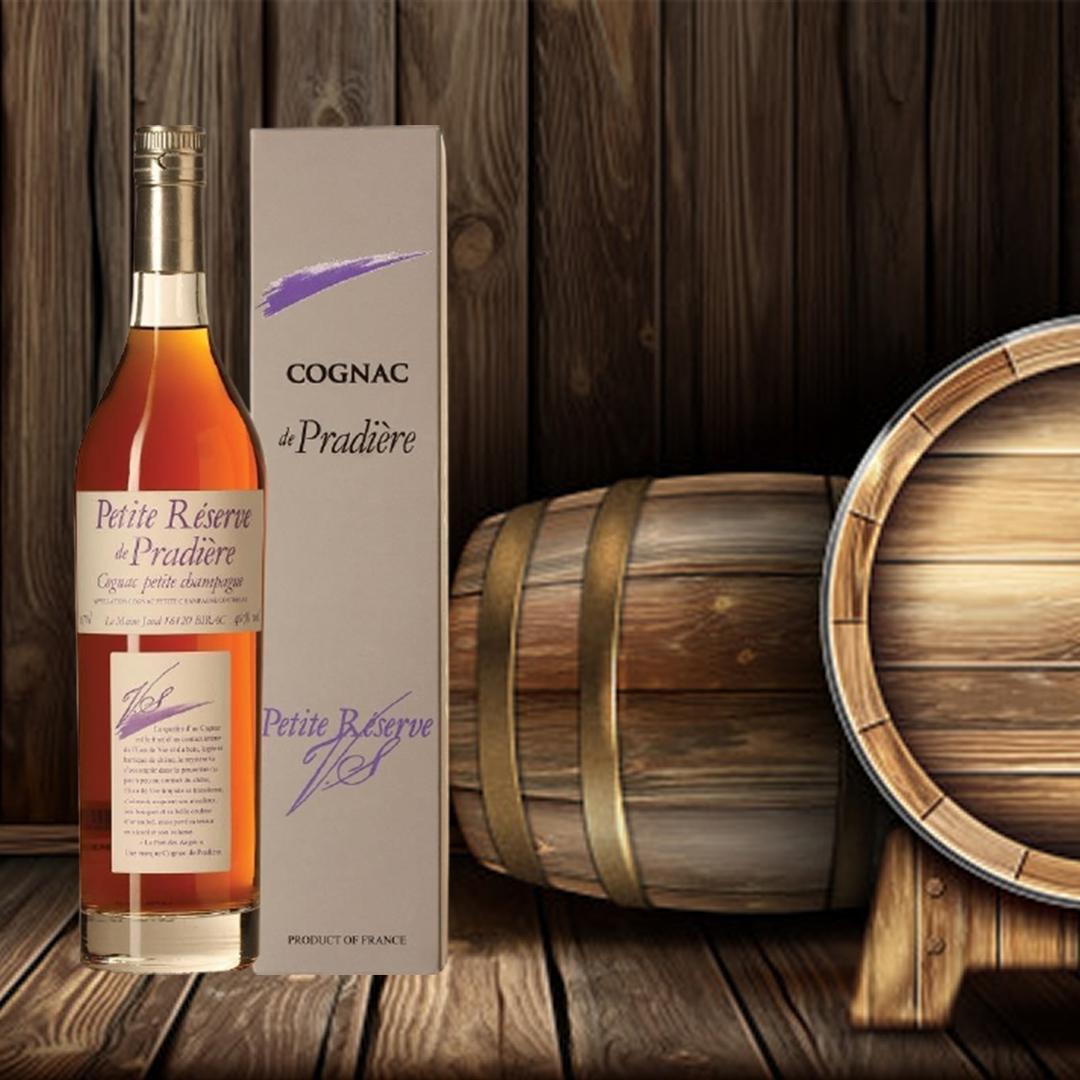 Cognac Petite Réserve De Pradière VS